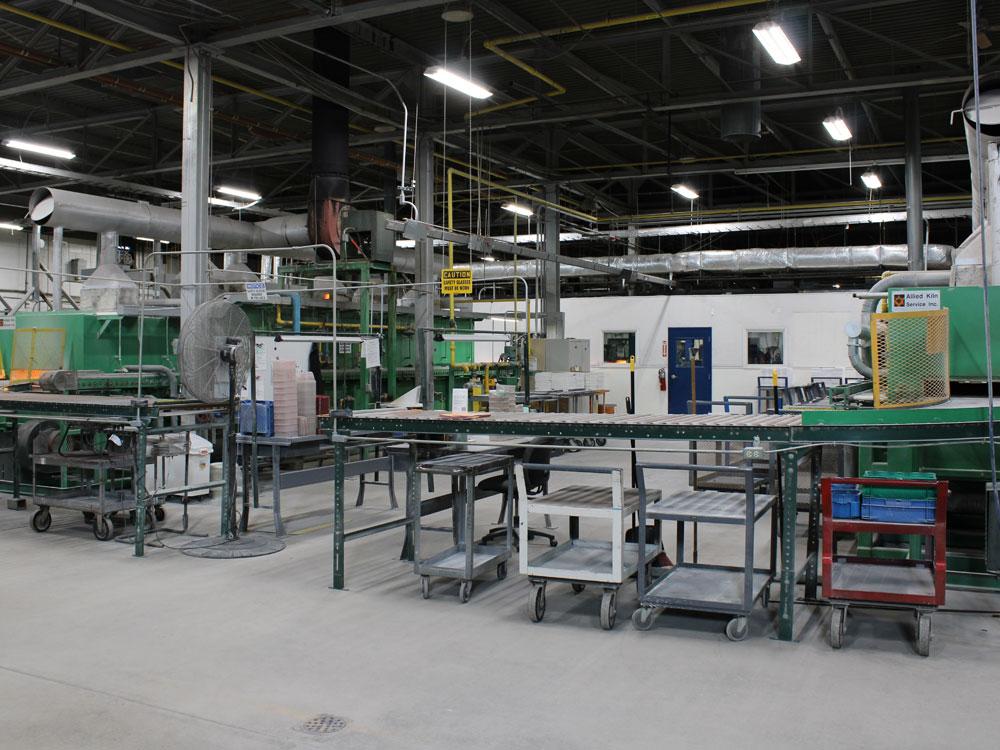 Roller Hearth Kiln, GBC Advanced Materials
